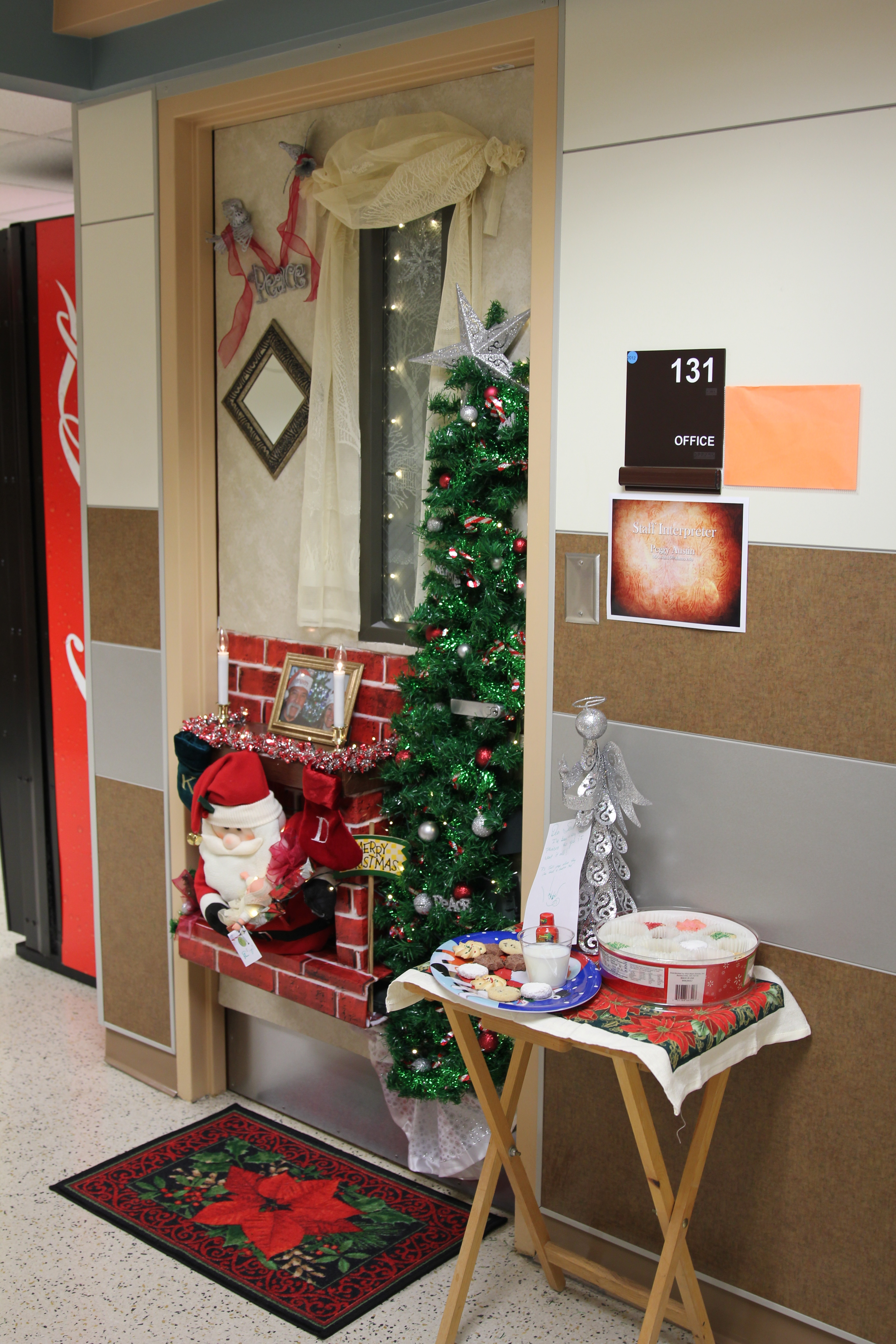 Cool Christmas Office Door Decorating Ideas Decor