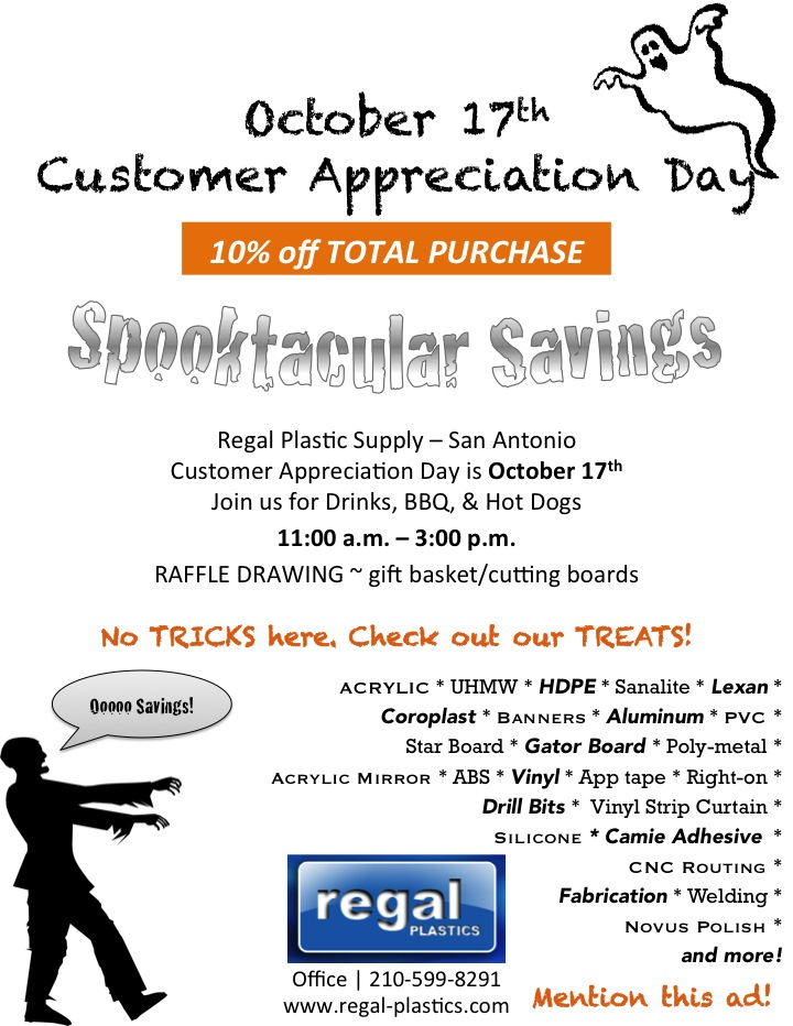 Regal Plastics San Antonio Customer Appreciation Day